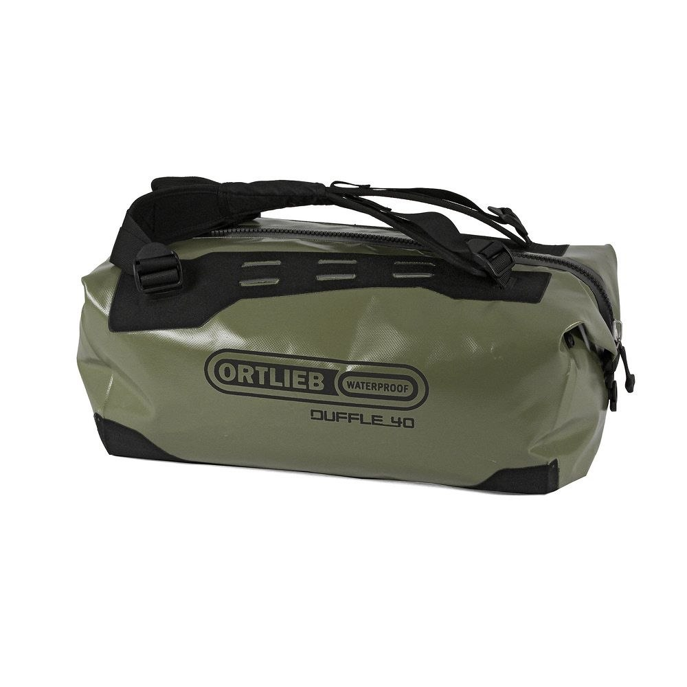 Picture of ORTLIEB Duffle - 40L Travel Bag - olive-black