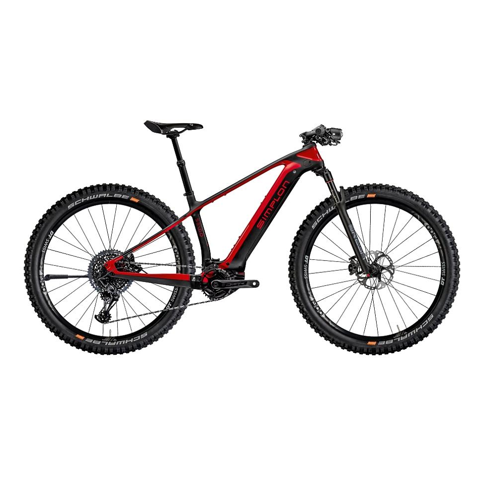 Simplon SENGO Pmax - XT-12 Carbon MTB E-Bike - 2021 - rot/schwarz