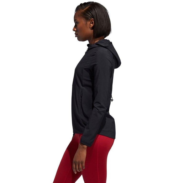 Image of adidas Women's Badge of Sport Jacket - black EB6385