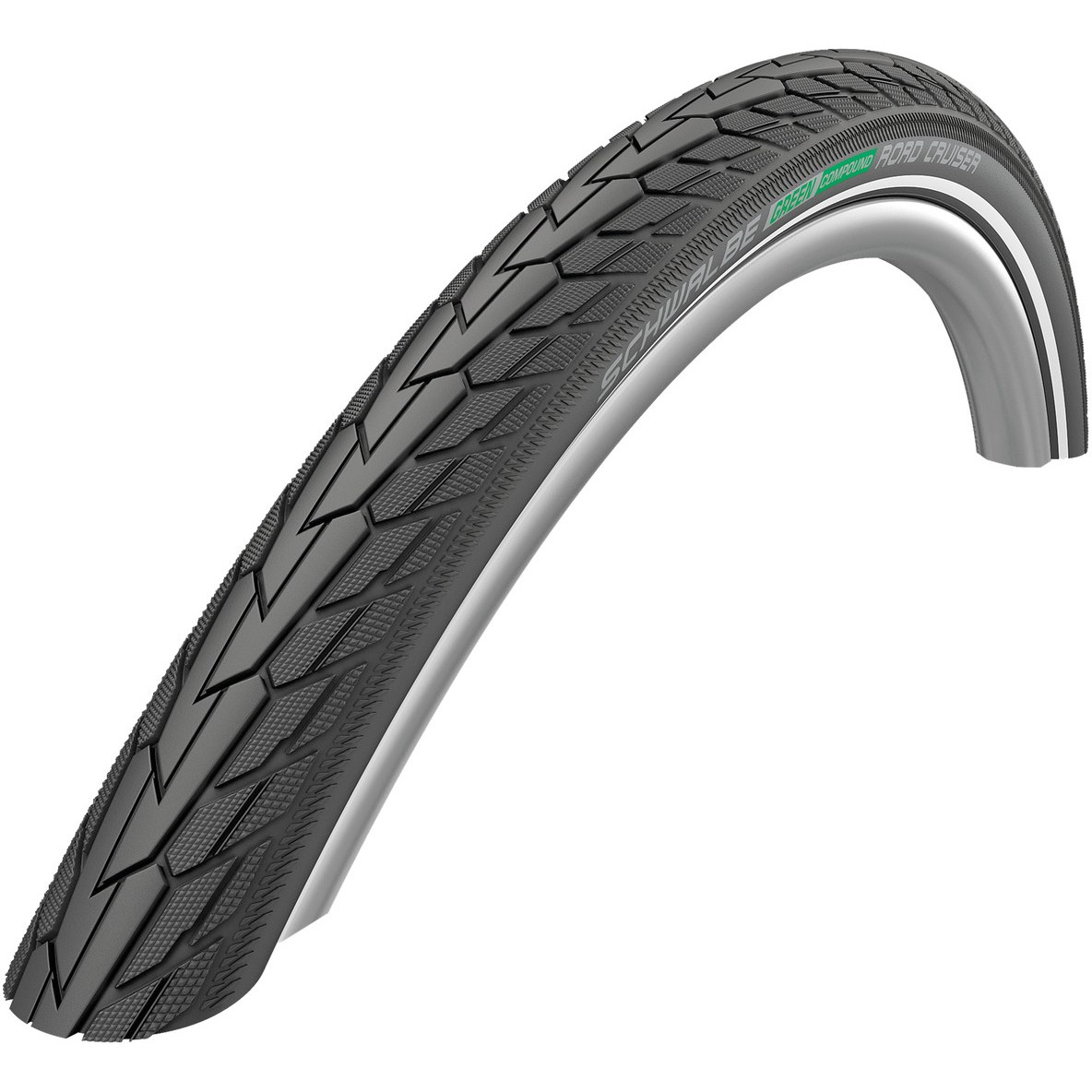 Picture of Schwalbe Road Cruiser Active Wired Tire - 28x1.60 Inches - Black-Reflex