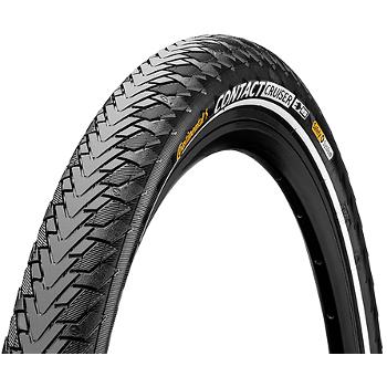 Continental Contact Cruiser Wire Bead Tire - 28x2.0 Inches - black Reflex