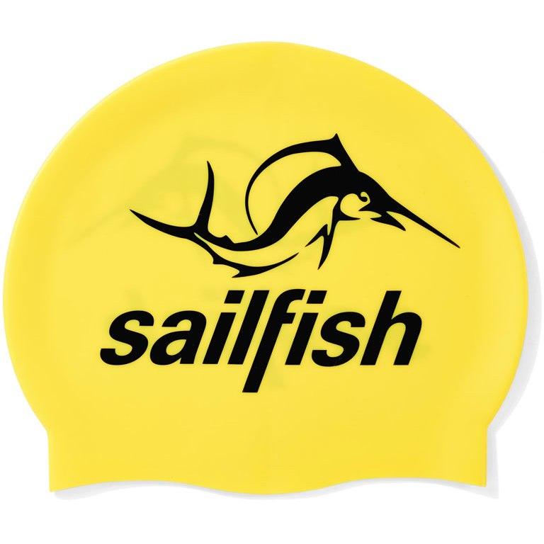 sailfish Silikon Schwimmkappe 2021 - gelb