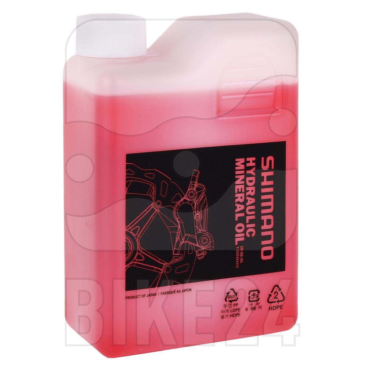 Produktbild von Shimano Hydraulisches Mineralöl für Scheibenbremsen - 1000 ml