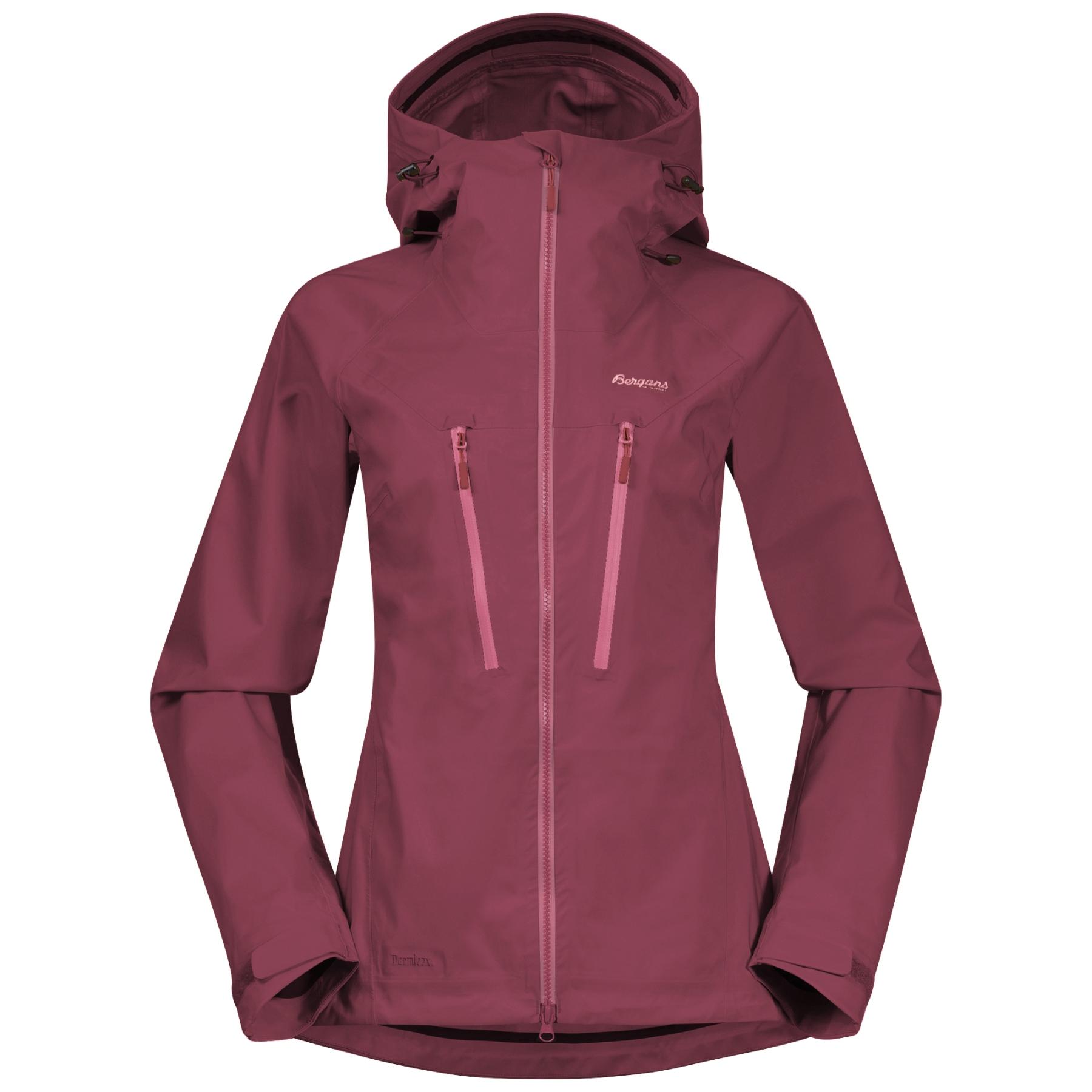 Produktbild von Bergans Cecilie Mountain Softshell Damenjacke - dark creamy rouge/creamy rouge