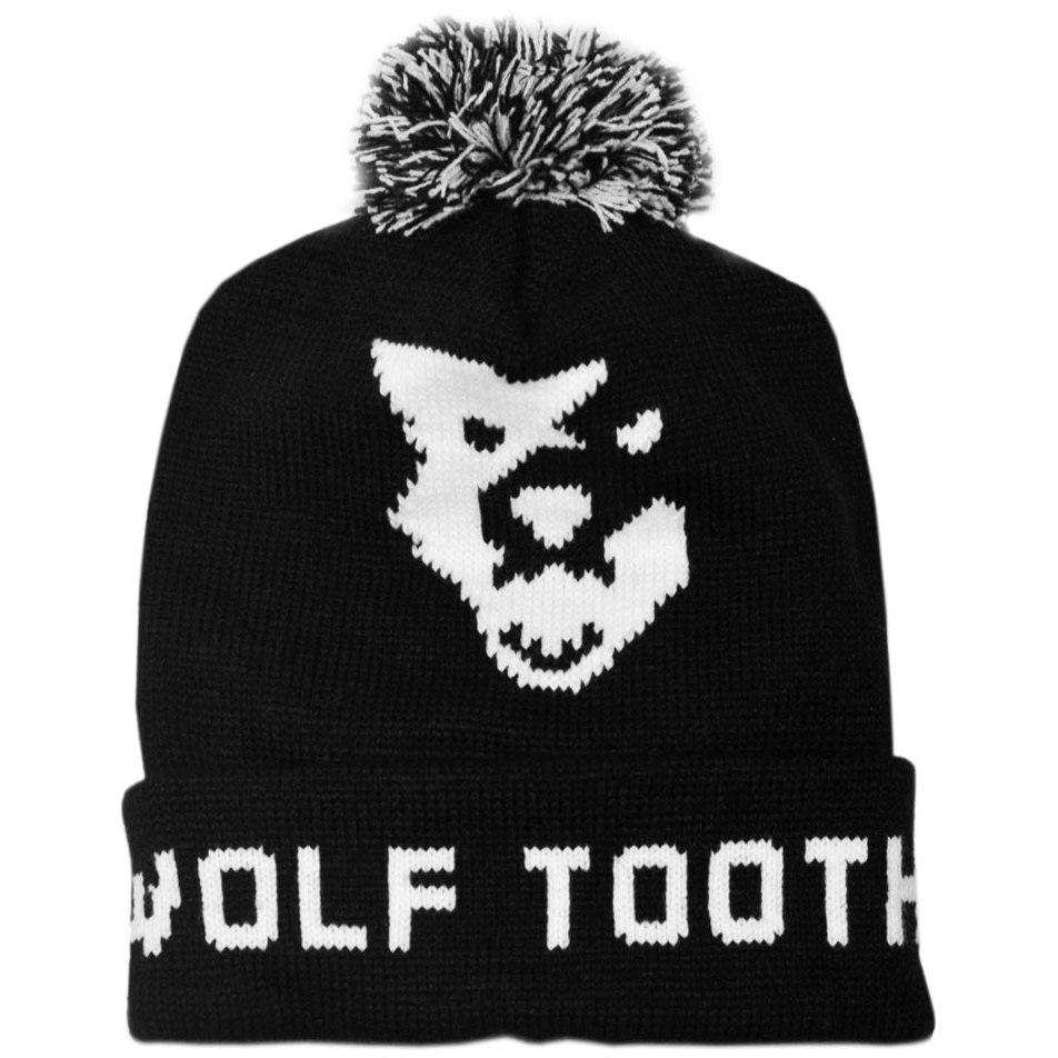 Wolf Tooth Pom Pom Beanie Mütze