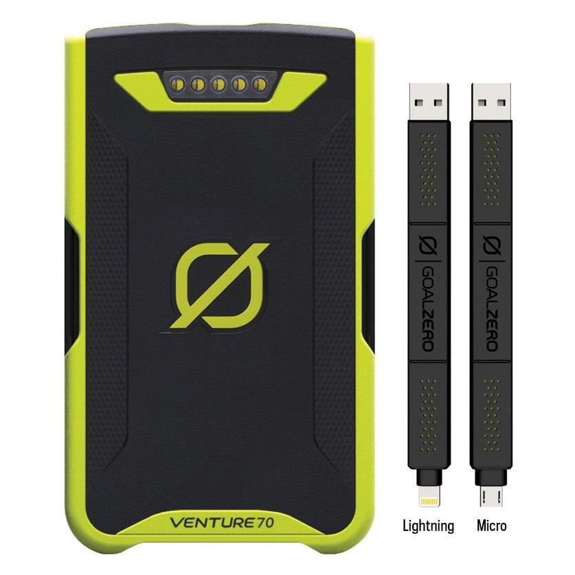 Goal Zero Venture 70 Recharger Lightning / Micro USB - Powerbank - 19200mAh