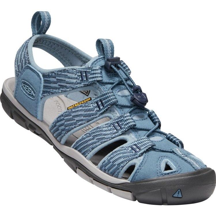 KEEN Clearwater CNX Damen-Sandale - Blue Mirage / Citadel