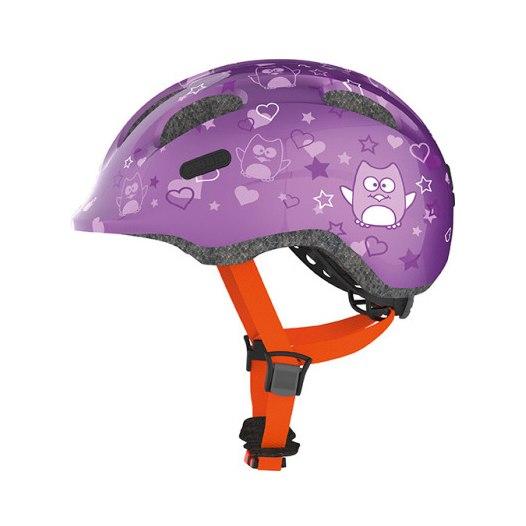 ABUS Smiley 2.0 Kids Helmet - purple star