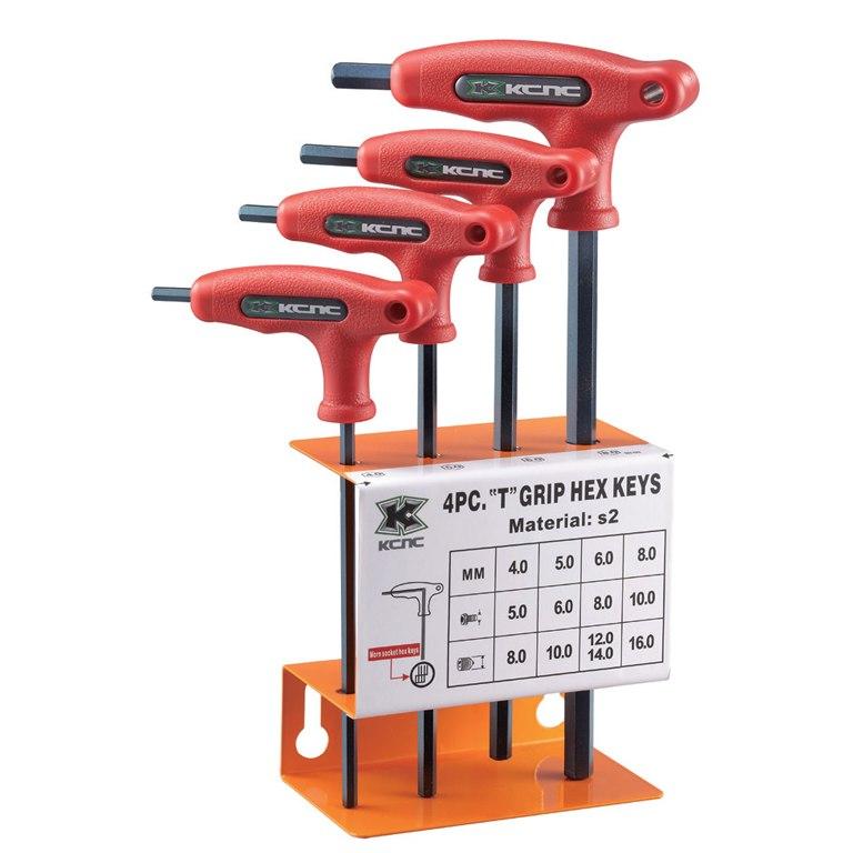 KCNC Patented Hex Keys - Innensechskant-T-Schlüssel Set 4-teilig 4 - 8 mm