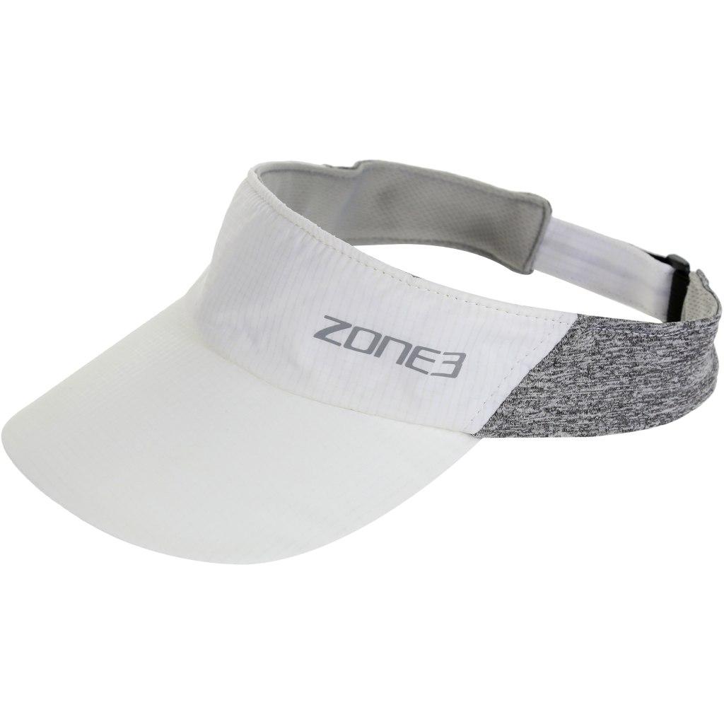 Produktbild von Zone3 Lightweight Race Visor - white/charcoal marl/reflective
