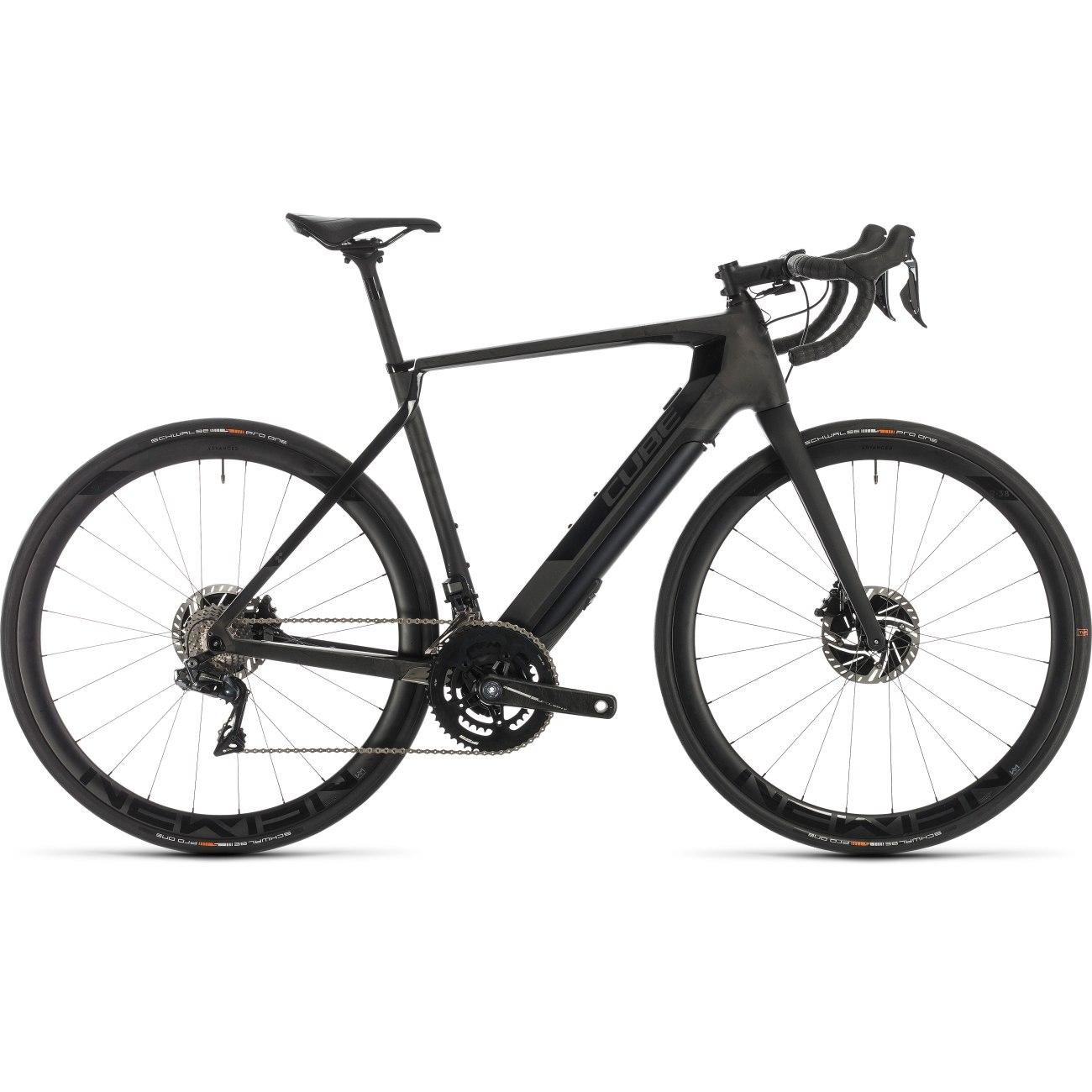 Produktbild von CUBE AGREE HYBRID C:62 SLT - Carbon Rennrad E-Bike - 2020 - black edition