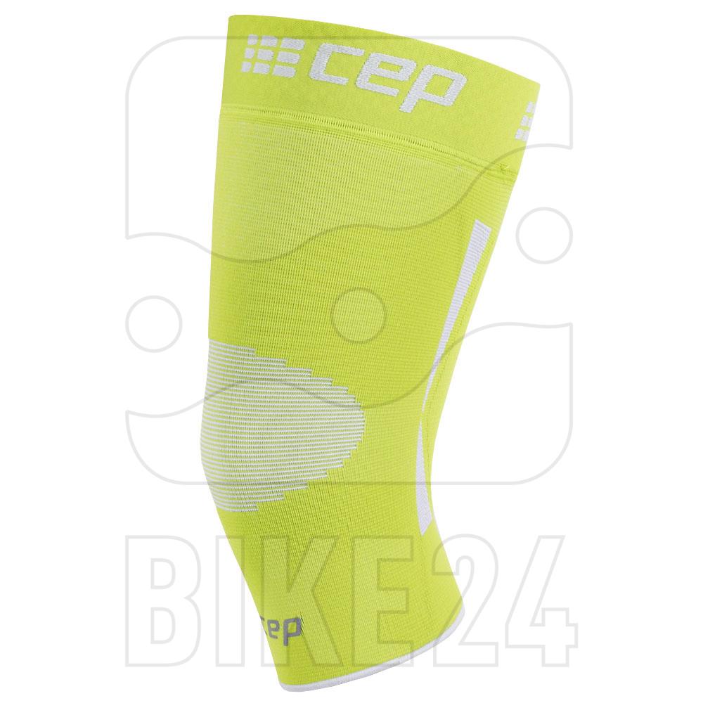 Image of CEP Ortho Knee Sleeve - lime/grey