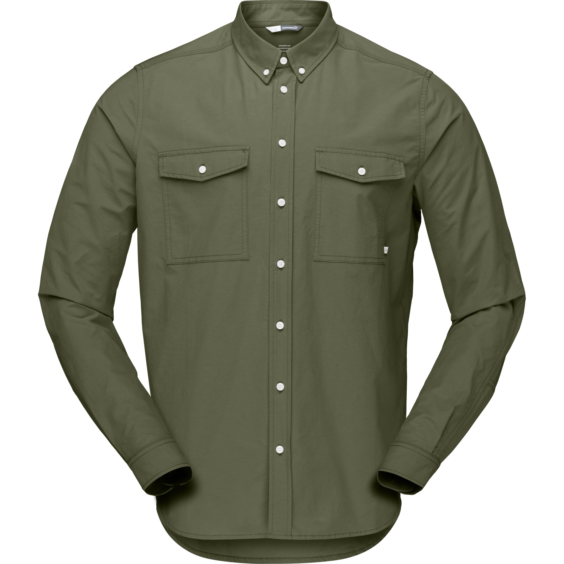 Norrona norrøna Shirt Men - Olive Night