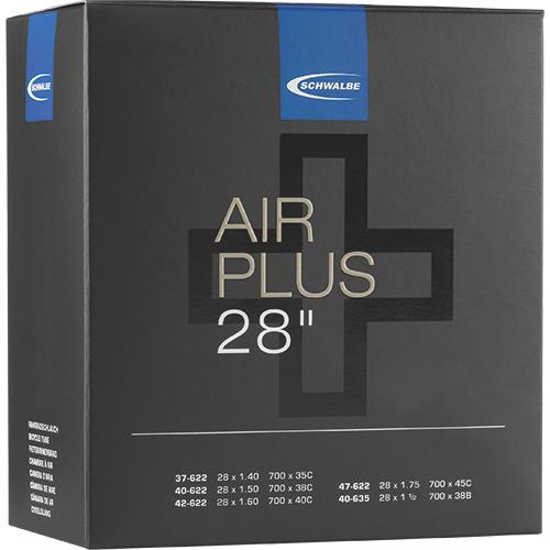 """Schwalbe Tube - Air Plus -  28"""" (37/47-622/635) - DV 17AP - Dunlop-Valve"""