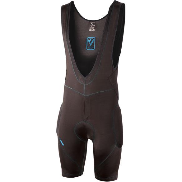 7 Protection 7iDP Hydro Protector Bib Shorts - black-blue
