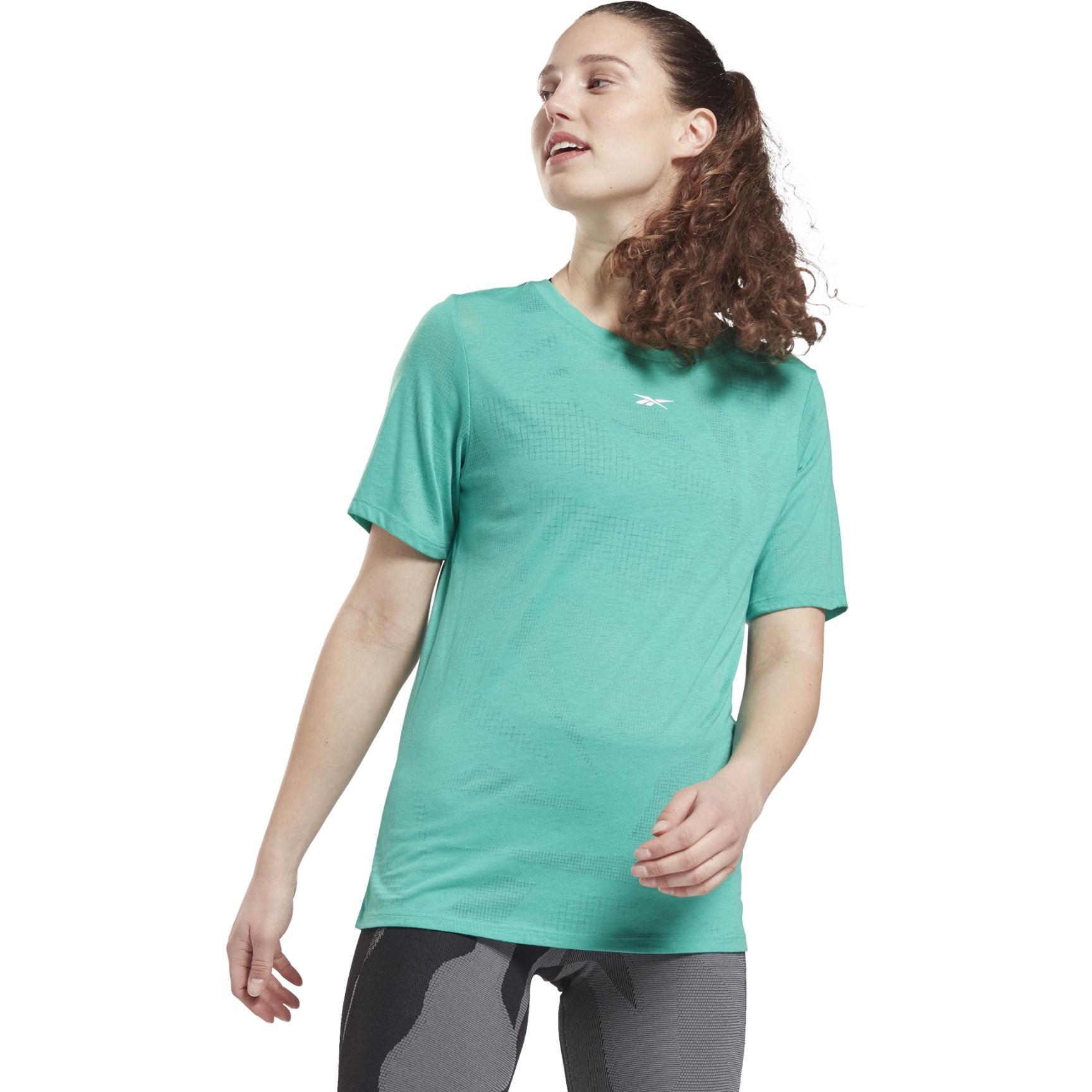 Image of Reebok Burnout Tee Women's T-Shirt - future teal