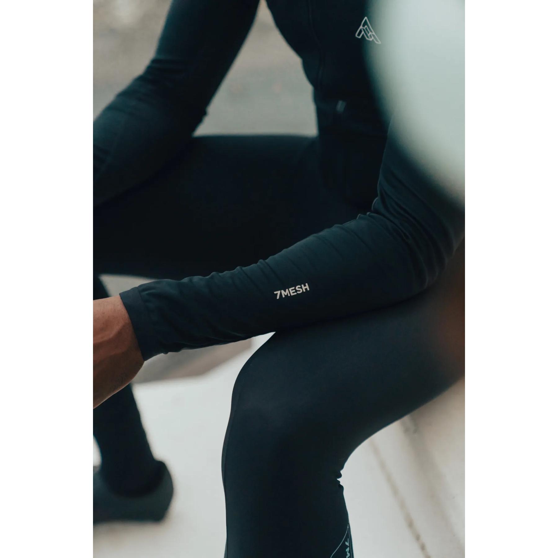 Image of 7mesh Synergy Men's Long Sleeve Jersey - Black