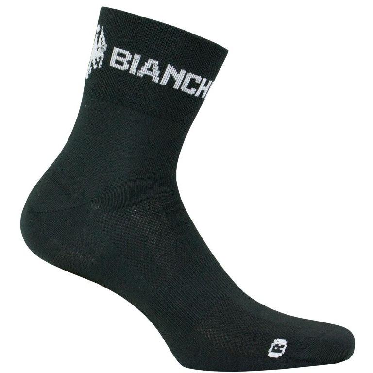 Nalini Bianchi Milano Asfalto Socks - black 4000