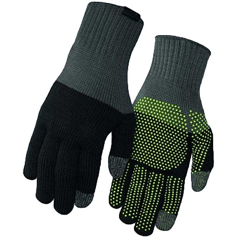Giro Merino Wool Winter Gloves - grey/black