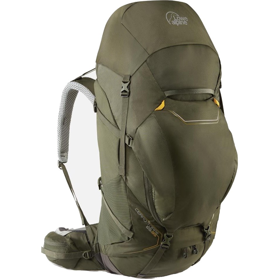 Lowe Alpine Cerro Torre 65:85 Regular Backpack FBQ-01 - Dark Olive