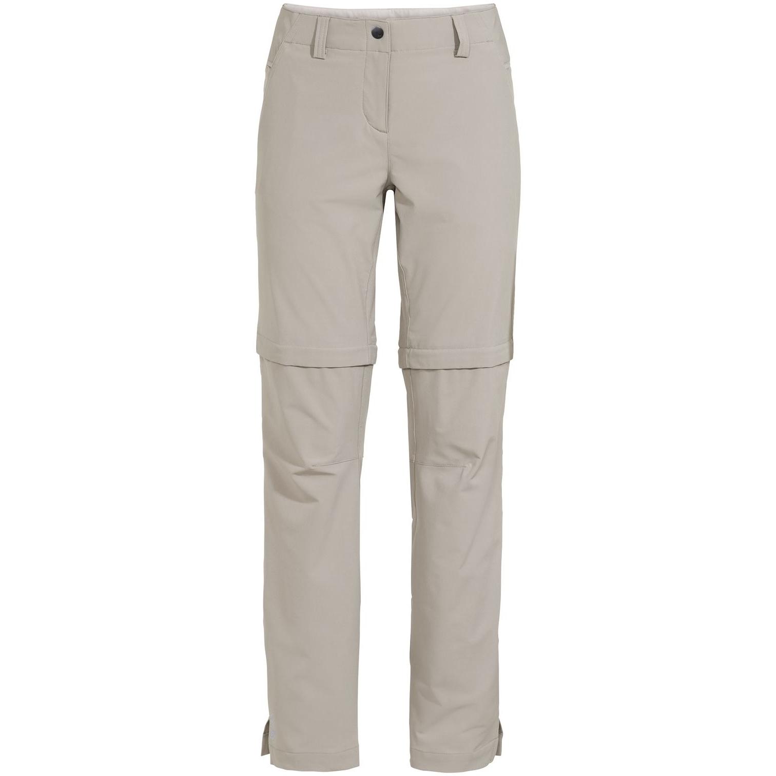 Vaude Skomer Zip-Off II  Damenhose - silver