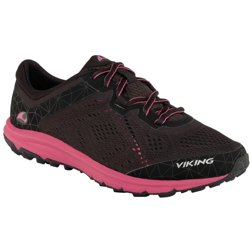 Viking Medvind W Shoe - black/dark pink 239