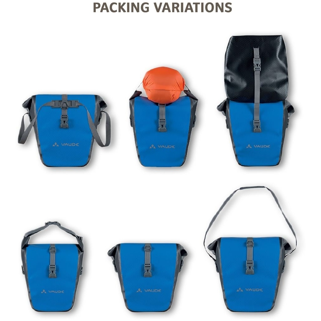 Bild von Vaude Aqua Back Fahrradtasche (Paar) - blue
