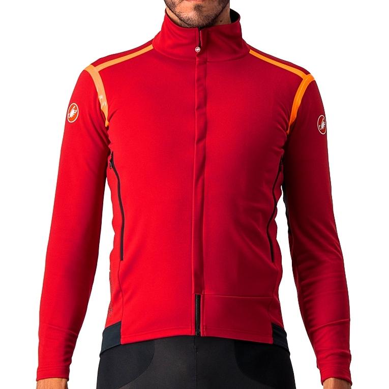 Produktbild von Castelli Perfetto RoS Long Sleeve Jacke - pro red/brilliant orange
