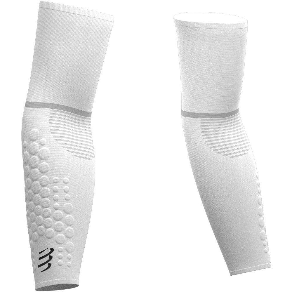 Produktbild von Compressport ArmForce Ultraleichte Kompressionsarmlinge - white