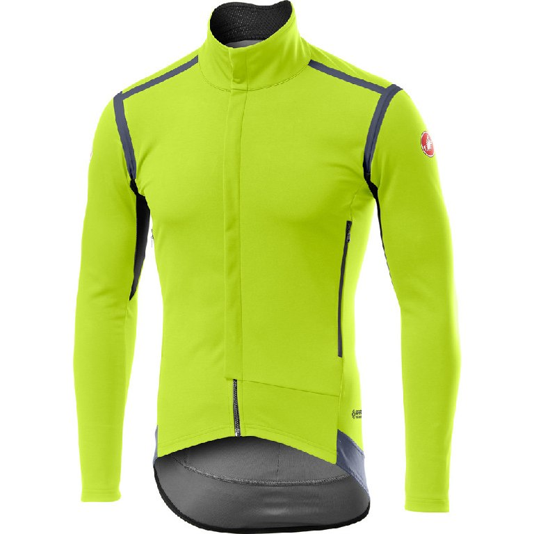 Produktbild von Castelli Perfetto RoS Long Sleeve Jacke - yellow fluo 032