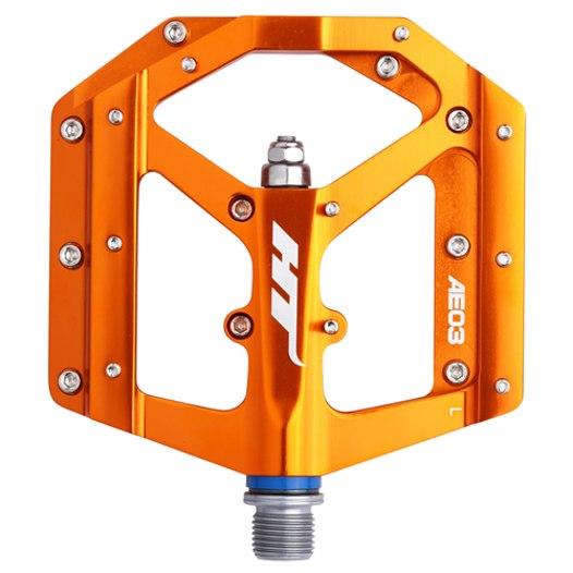 Produktbild von HT AE03 EVO+ Flat Pedal Aluminium - orange