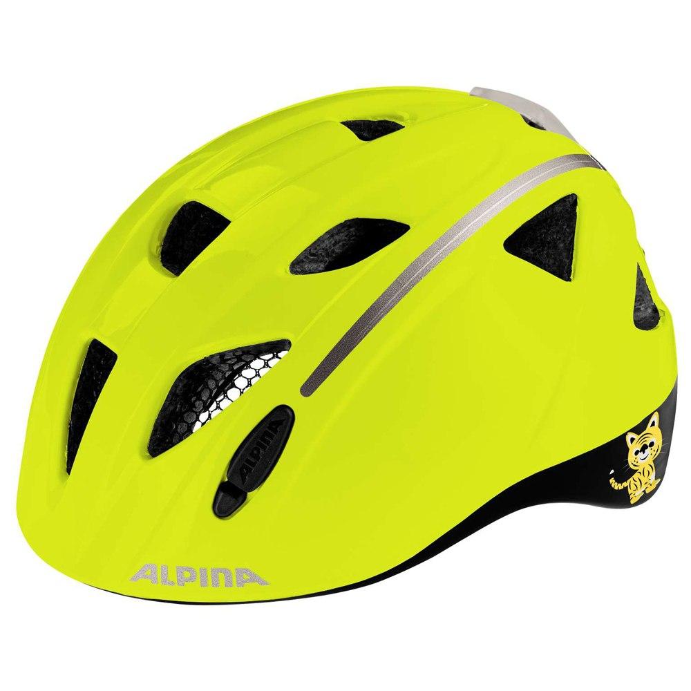 Alpina Ximo Flash Kids Helmet - be visible reflective