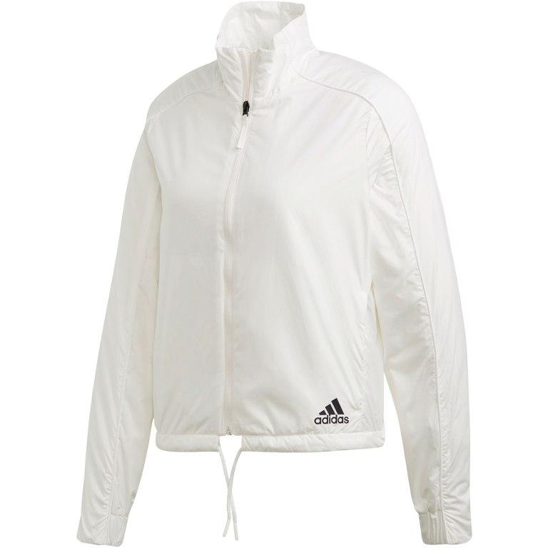 adidas Women's Light Insulated Jacket - core white DQ1611