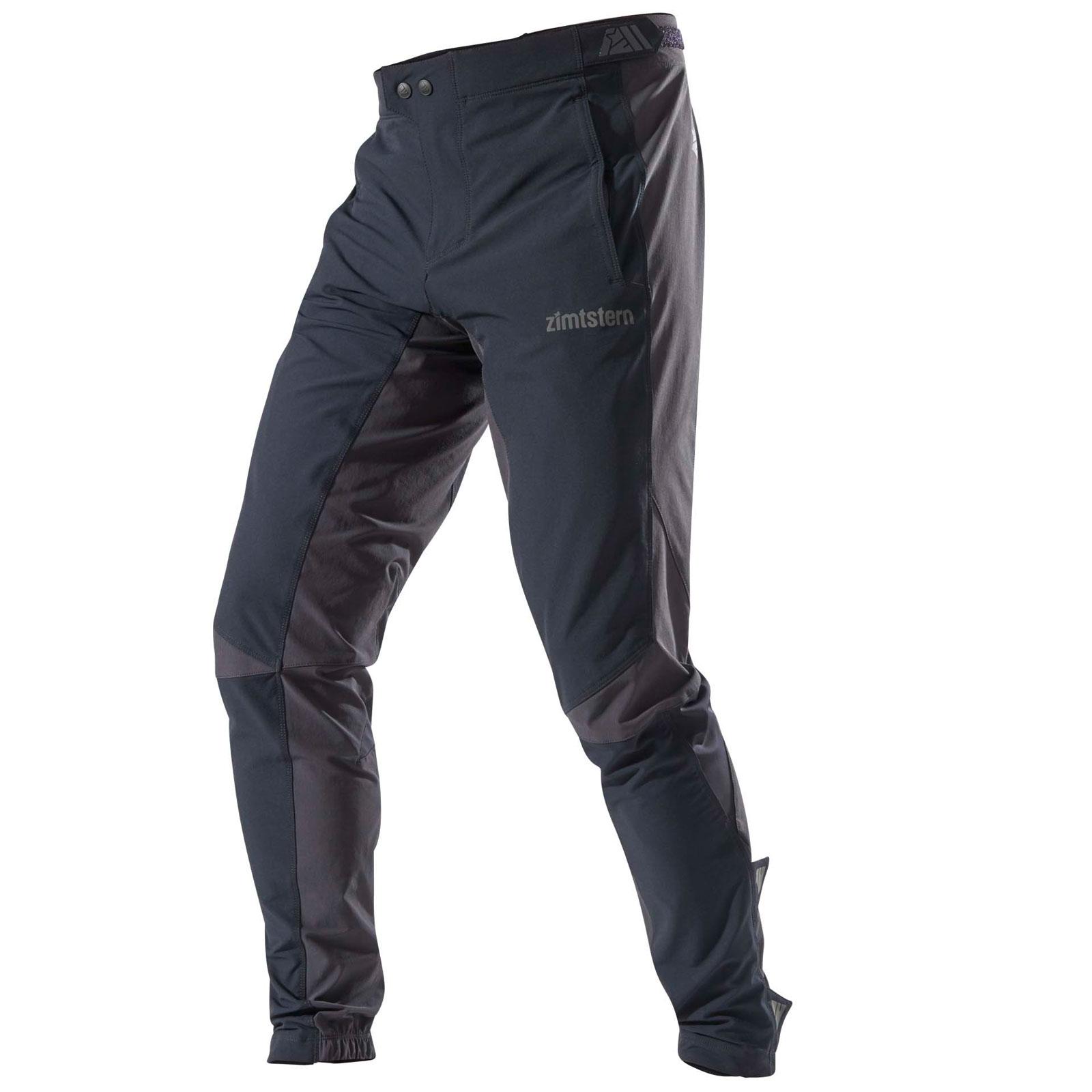 Zimtstern Shelterz MTB Softshell Pants - pirate black