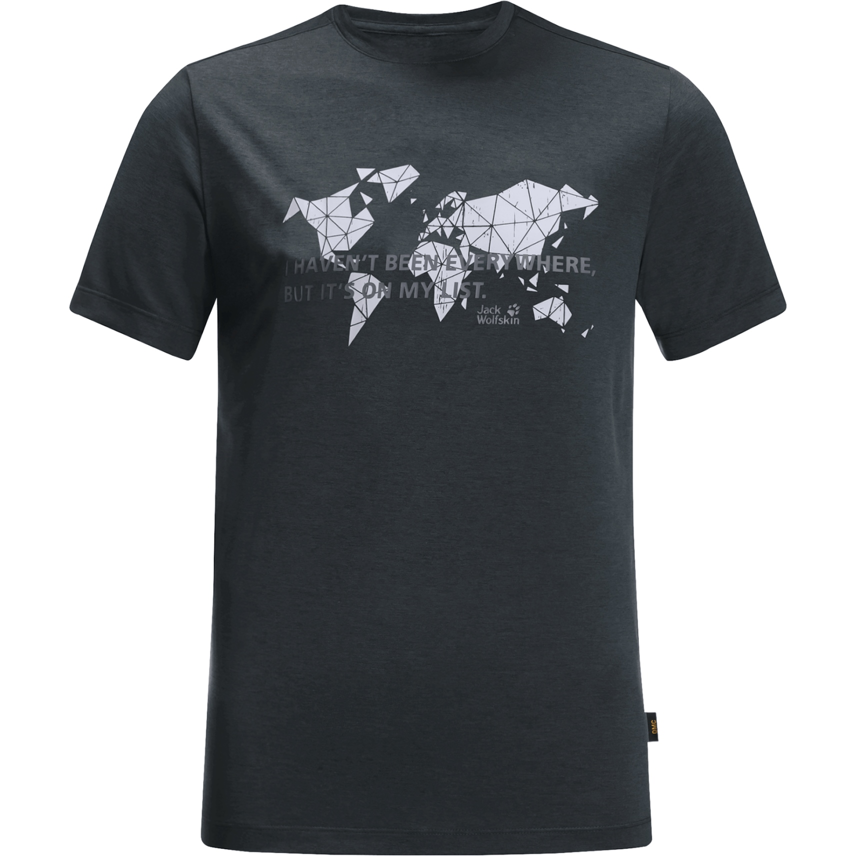 Jack Wolfskin JWP World T M T-Shirt - phantom