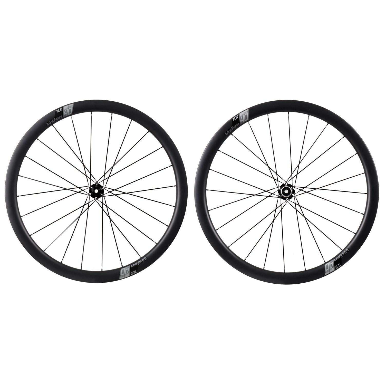 Vision SC 40 Disc Carbon Laufradsatz - Drahtreifen - Centerlock - VR: 12x100mm | HR: 12x142mm