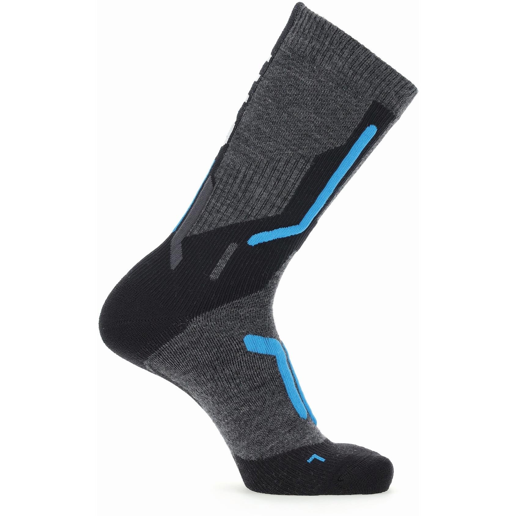 Bild von UYN Ski Cross Country 2In Socken - Anthracite/Blue