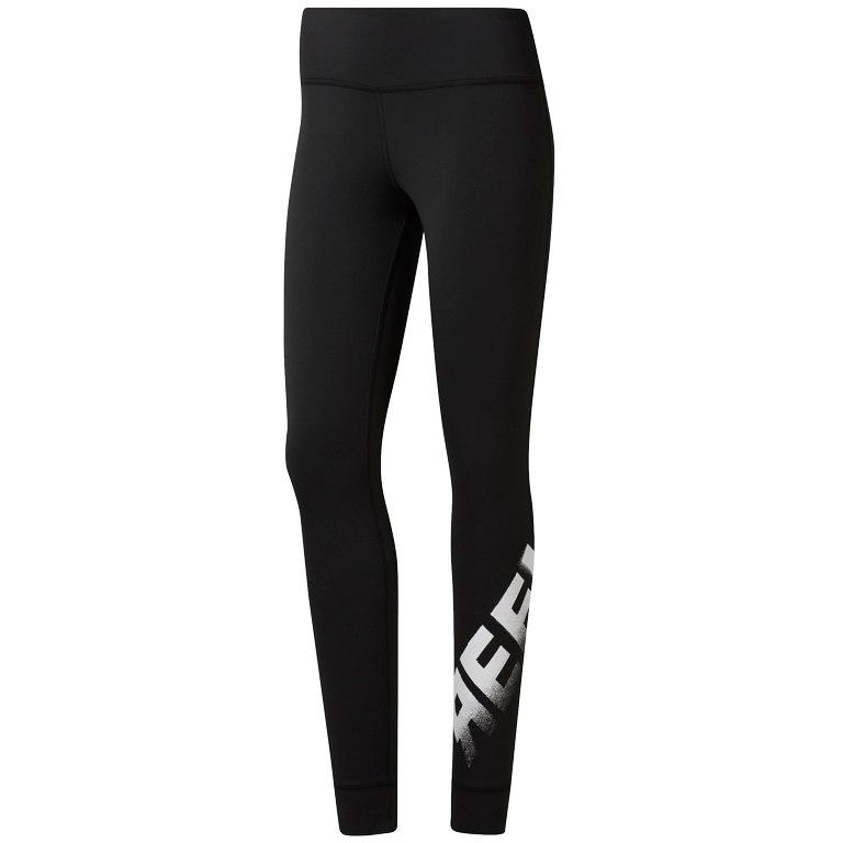 Reebok Women Cardio Lux Bold Tights - black DT8788
