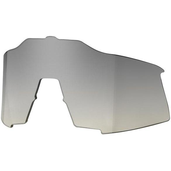 100% Speedcraft Tall Mirror Lente de repuesto - low light/yellow silver