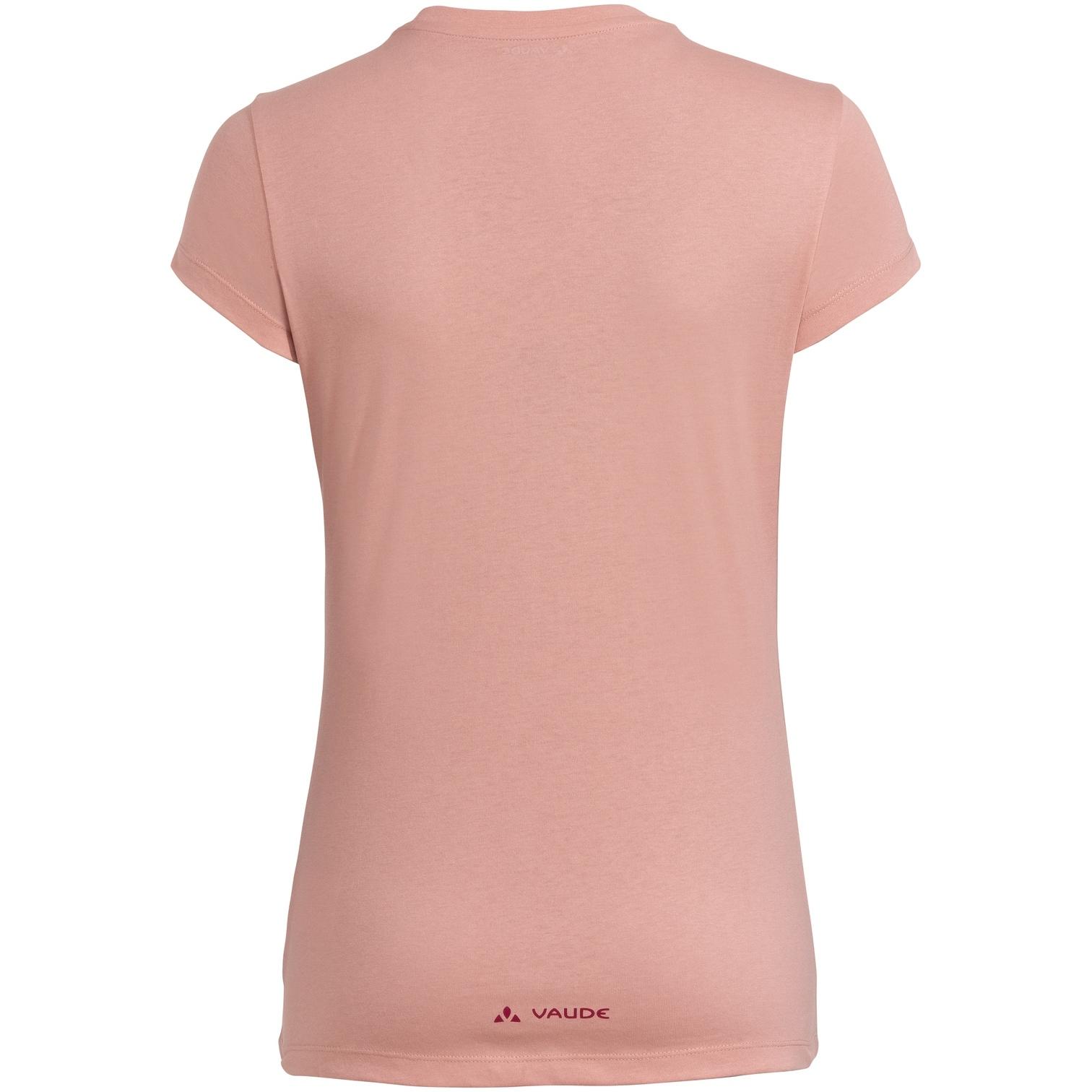 Bild von Vaude Cyclist Damen T-Shirt V - soft rose