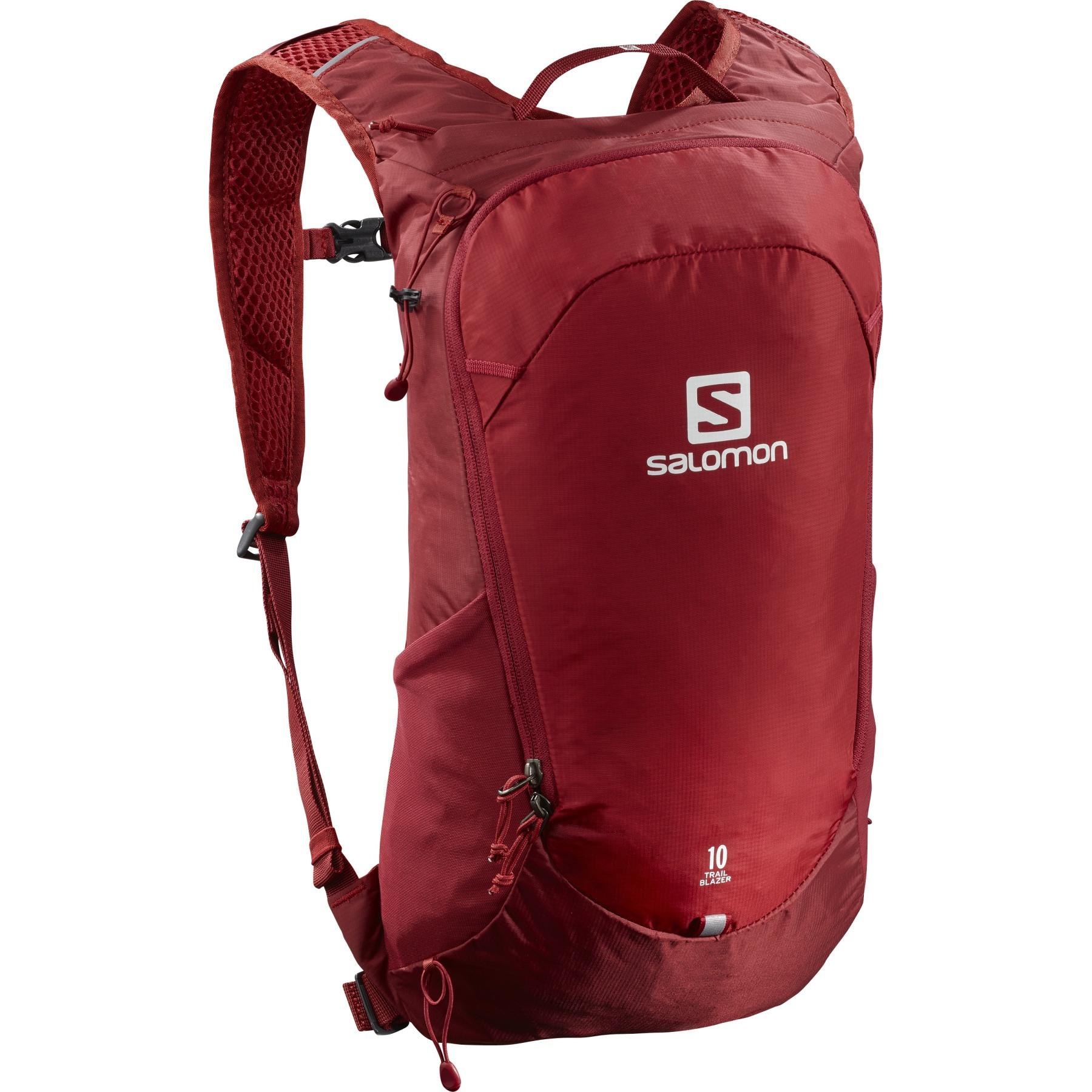 Picture of Salomon Trailblazer 10 Backpack - Chili Pepper/Red Dahlia/Ebony