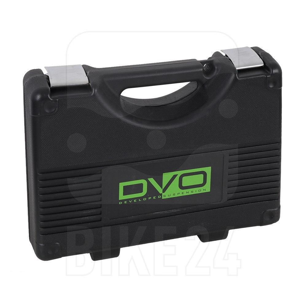Image of DVO Suspension Topaz T3 Air Rear Shock - Trunnion - black