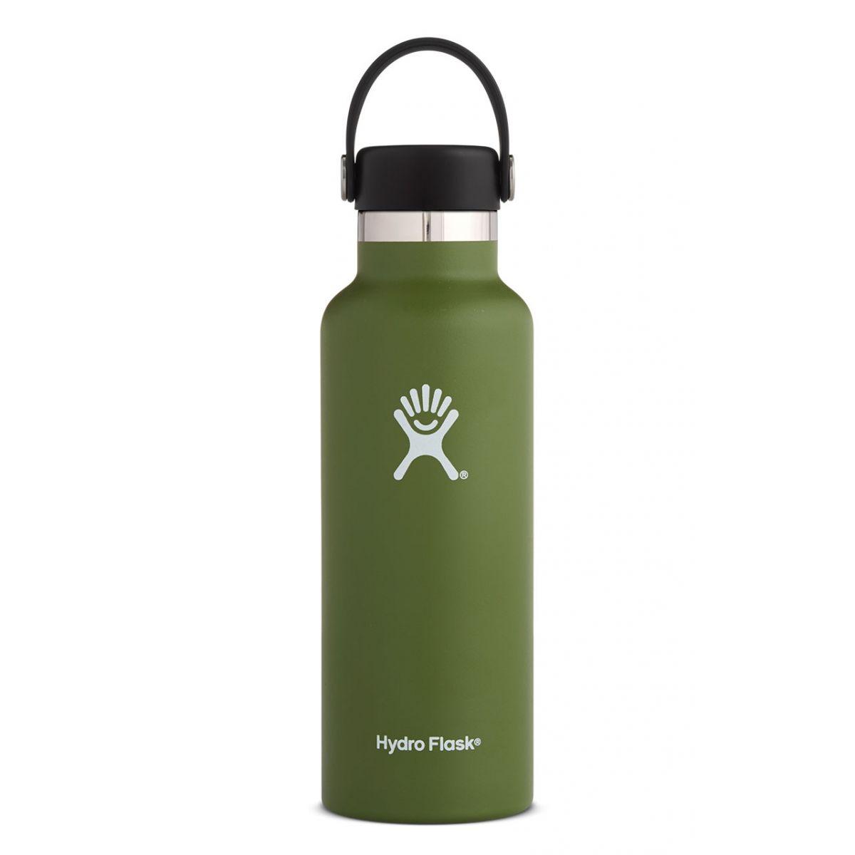 Produktbild von Hydro Flask 18 oz Standard Mouth Flex Cap Thermoflasche 532ml - Olive