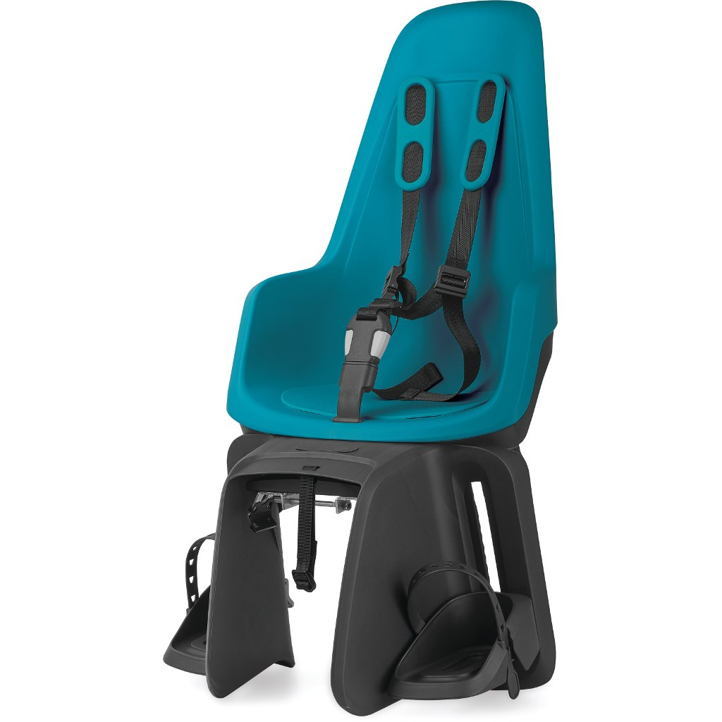 Bobike ONE maxi E-BD - Bicycle Seat for Kids - Carrier Mount - Bahama Blue