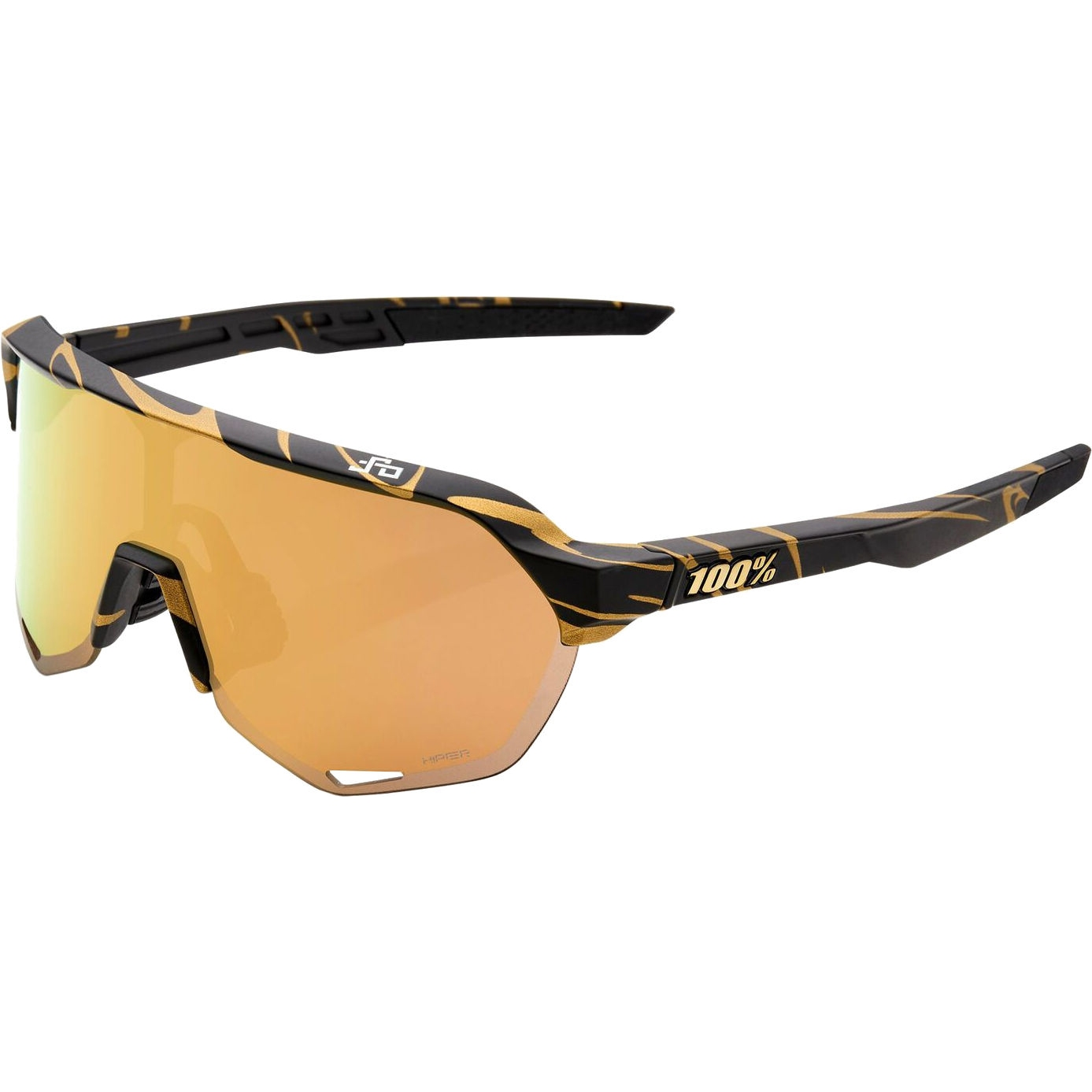 100% S2 LE HiPER Lens Gafas - Peter Sagan Edición Especial - Metallic Gold Flake