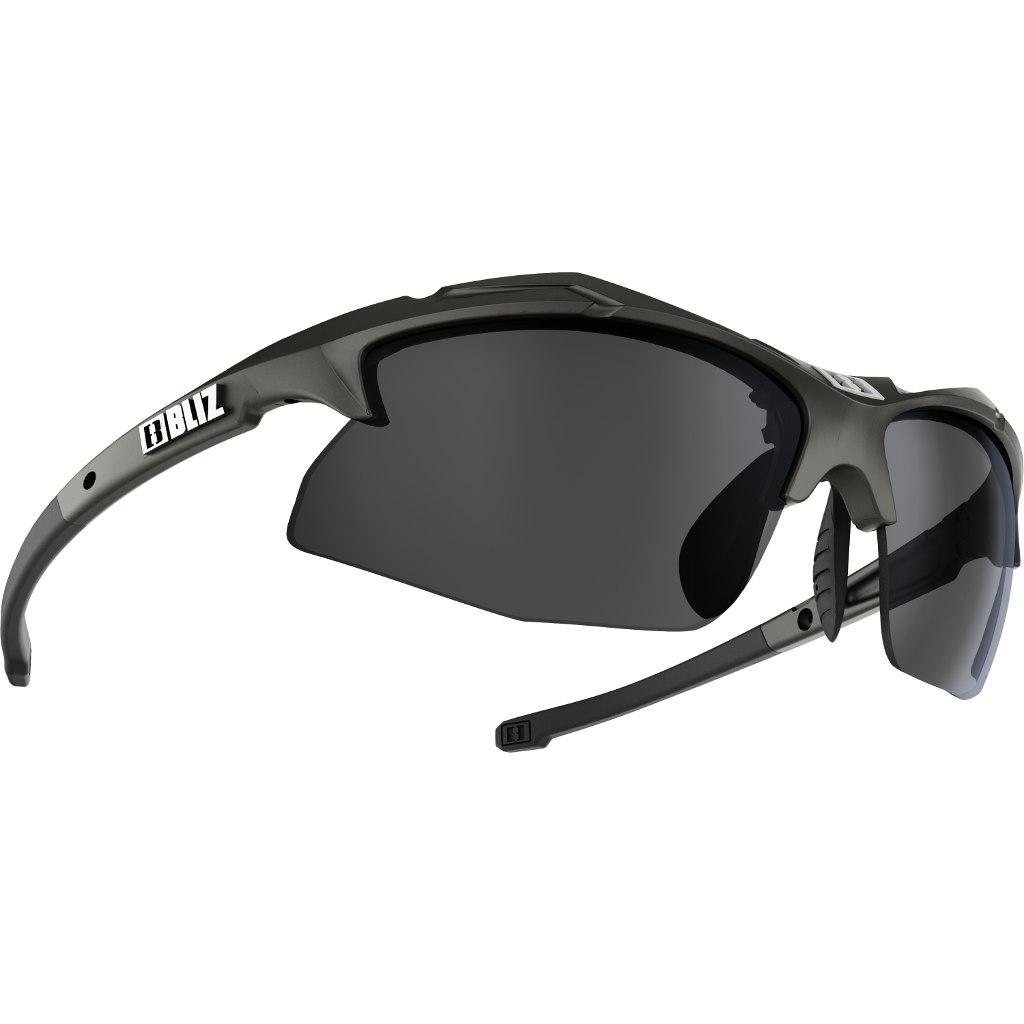 Bliz Rapid Matt Black / Smoke + Orange + Clear Glasses