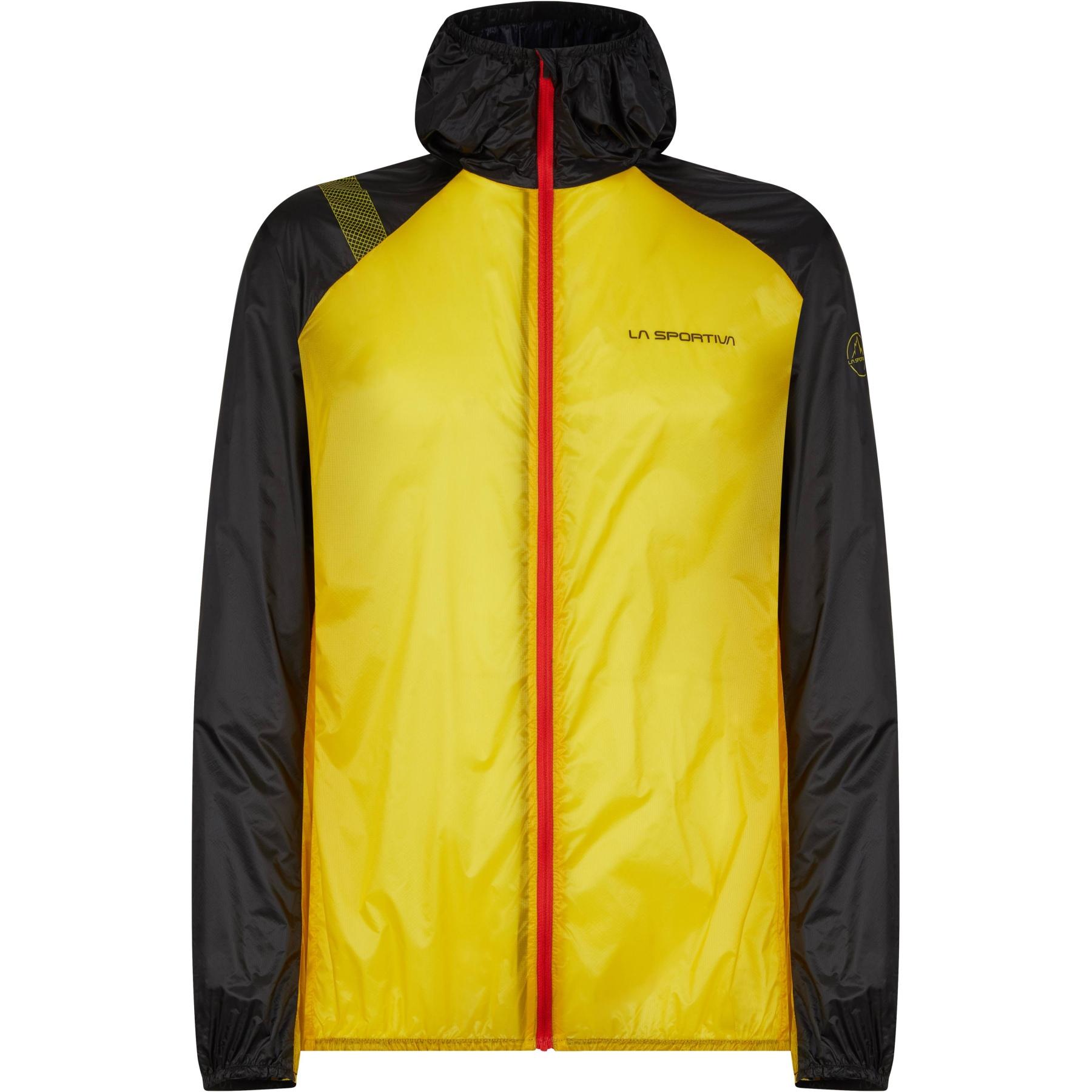 La Sportiva Blizzard Windbreaker Jacke - Yellow/Black