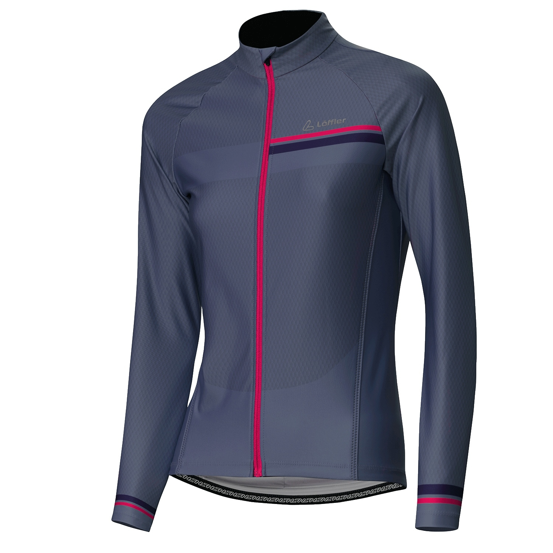 Löffler Bike Long Sleeve Jersey Hotbond RF Women 24076 - flint stone 952