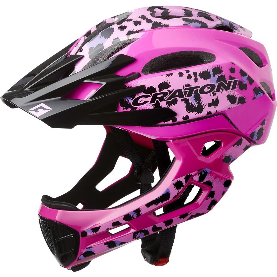 CRATONI C-Maniac Pro Fullface Helmet - leo-pink glossy