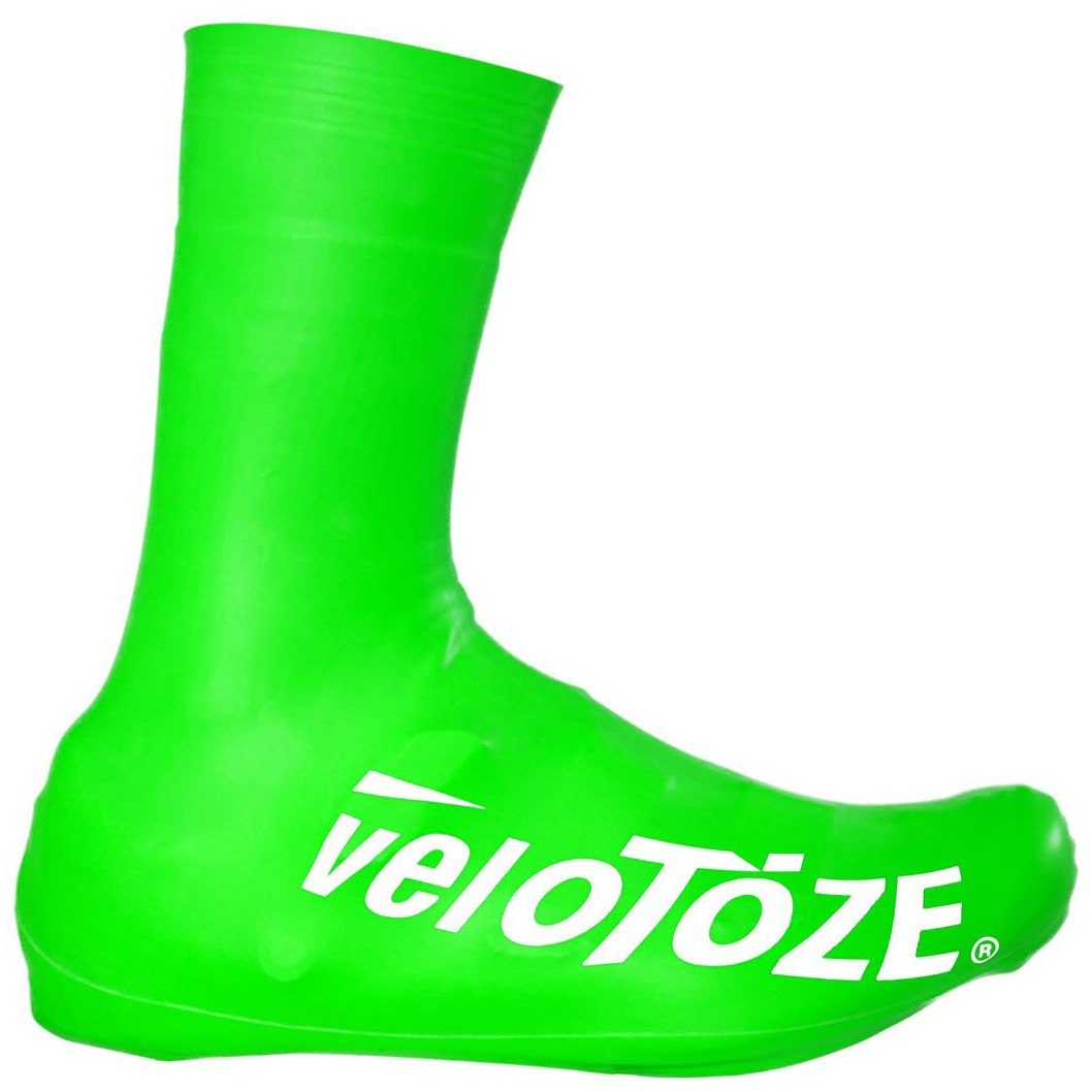 Bild von veloToze Tall Shoe Cover Road 2.0 - Überschuh Lang - Viz-green